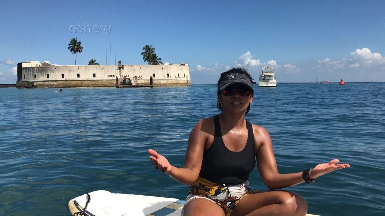 Diretora do programa alerta para o excesso de lixo na Baía de Todos os Santos