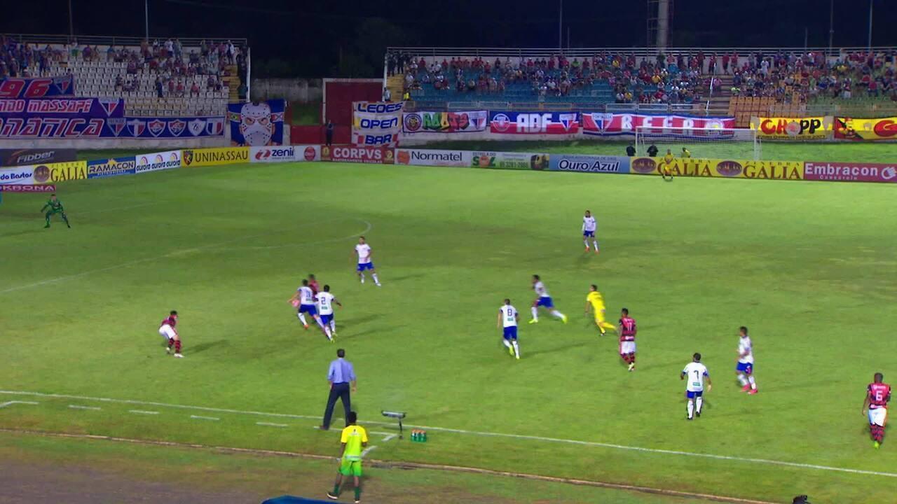Confira os melhores momentos de Guarany 0 x 1 Fortaleza