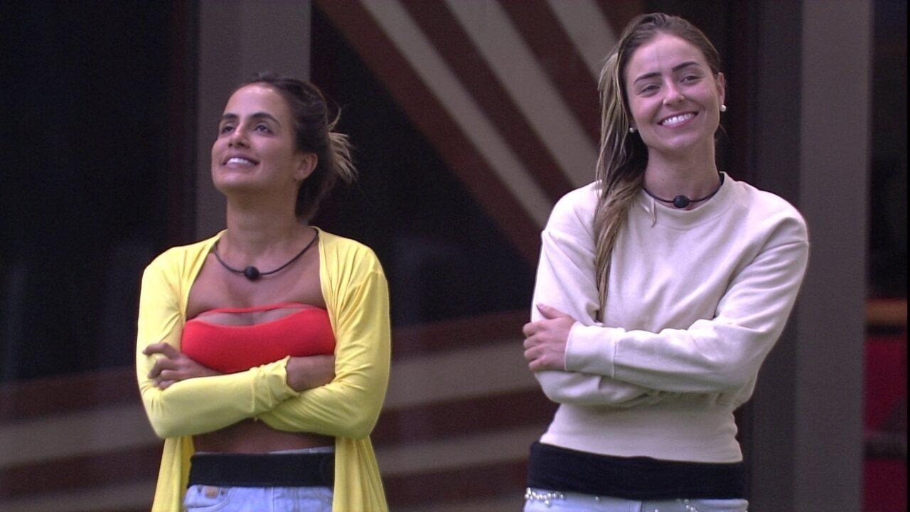Carolina conversa com Paula sobre Alan: 'Inserir ele na nossa história'