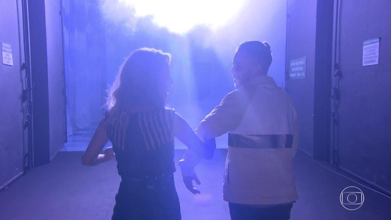 Teaser: veja primeira reação de Sandy e Junior no 'Visitando o Passado'