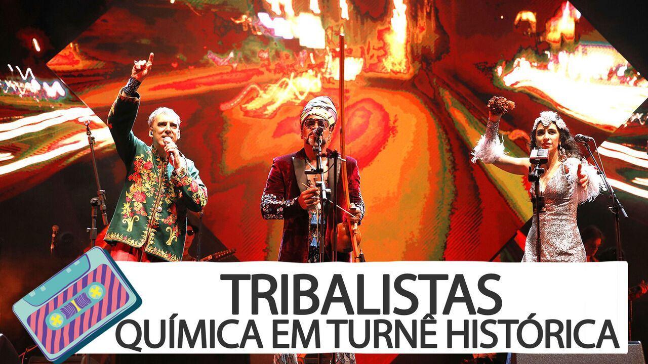 Tribalistas no Lolla em 1 minuto: química em turnê histórica