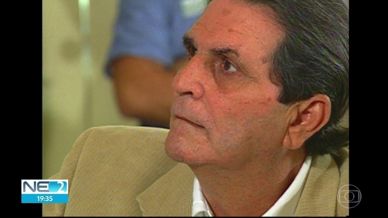 Morre Ettore Labanca, presidente da Arpe e ex-prefeito de São Lourenço da Mata