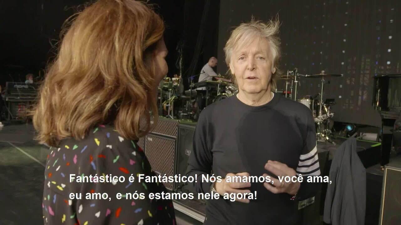 Veja a entrevista completa com Paul McCartney
