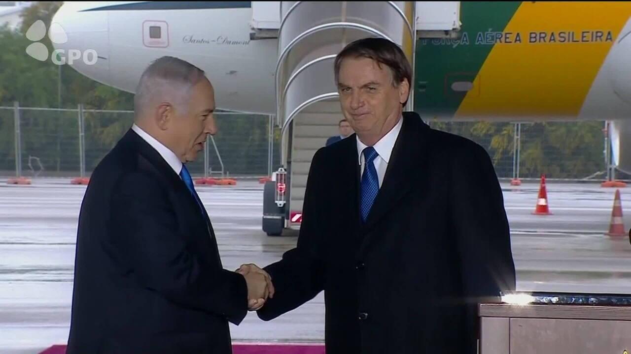 Em Israel, Bolsonaro anuncia escritório comercial do Brasil em Jerusalém