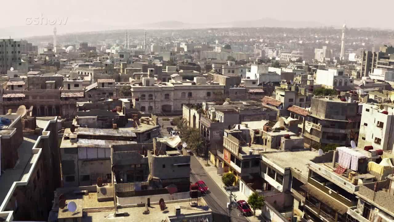 Equipe de Efeitos Visuais cria cidade virtual e bombardeio para cenas de Órfãos da Terra