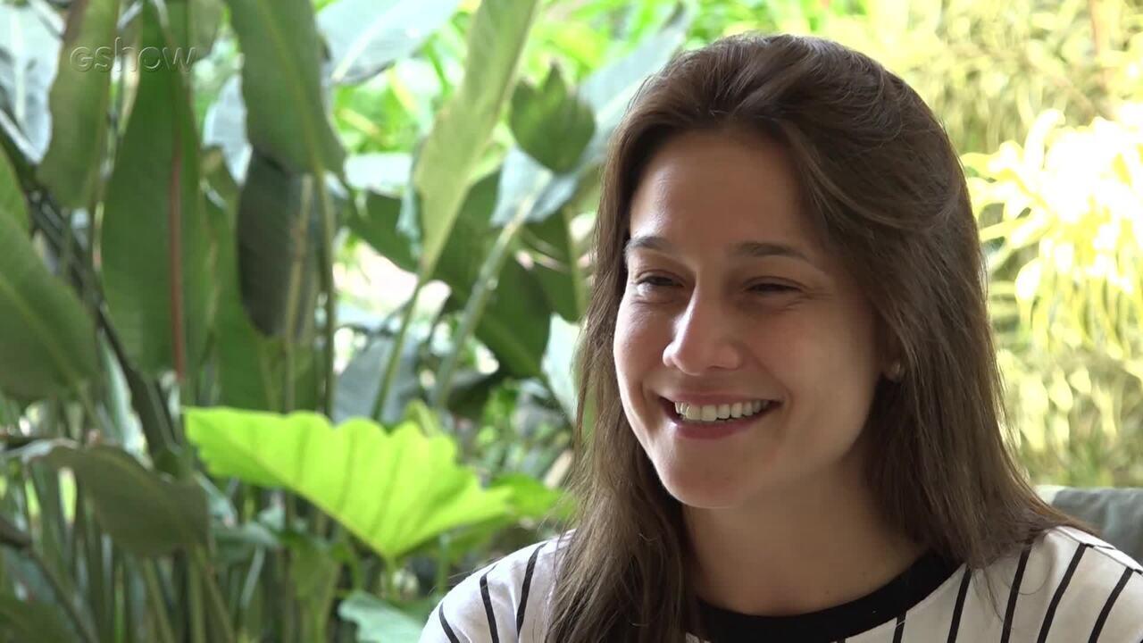 Fernanda Gentil diz que celular bombou quando Sandy e Junior deram indícios de turnê