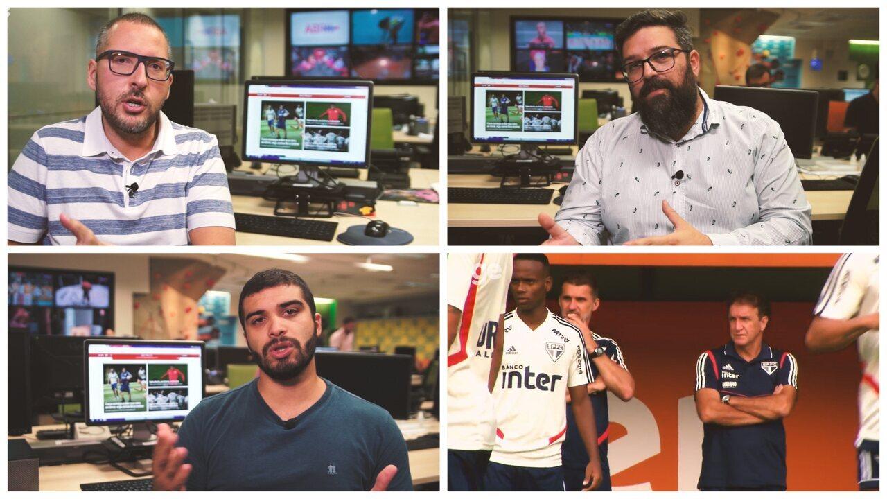 Repórteres analisam possível São Paulo de Cuca para semifinal contra o Palmeiras