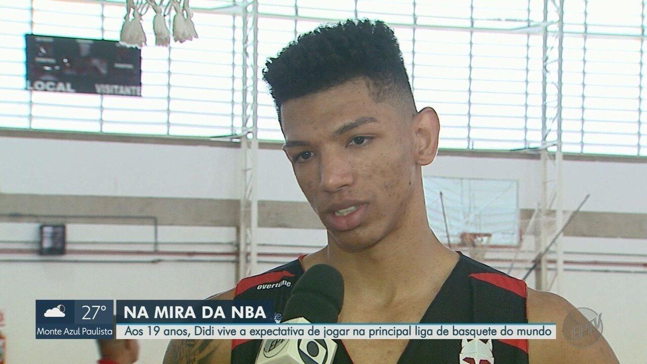 Aos 19 anos, ala Didi do Franca Basquete está na mira da NBA
