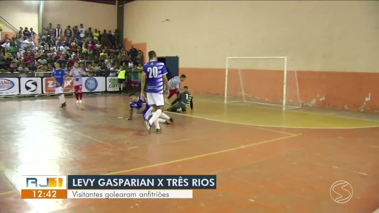Copa Rio Sul de Futsal: Três Rios goleia Levy Gasparian fora de casa