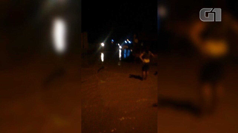 Vídeo mostra força das águas após enxurrada