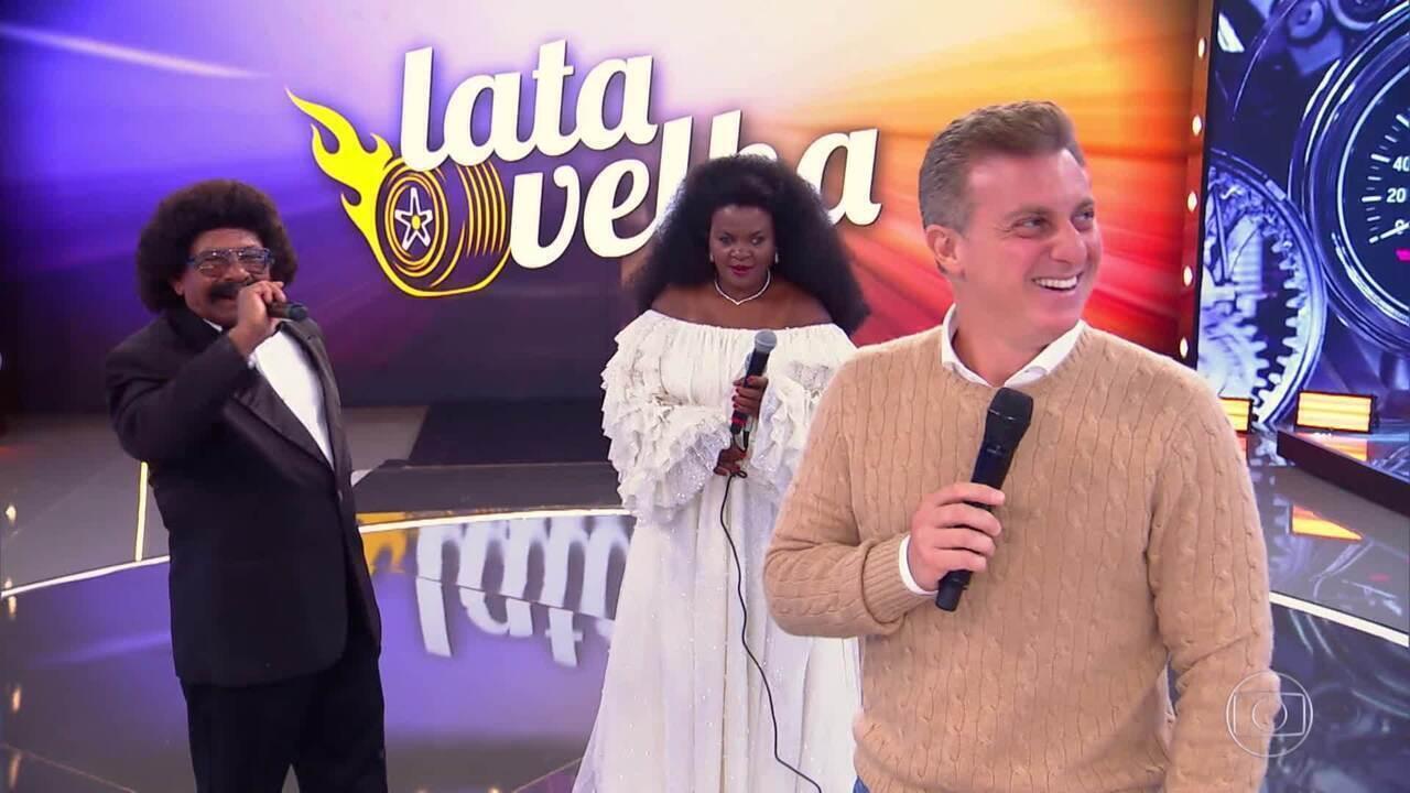 Público vota e dá nota para a apresentação de Bigode e Rita no 'Lata Velha'