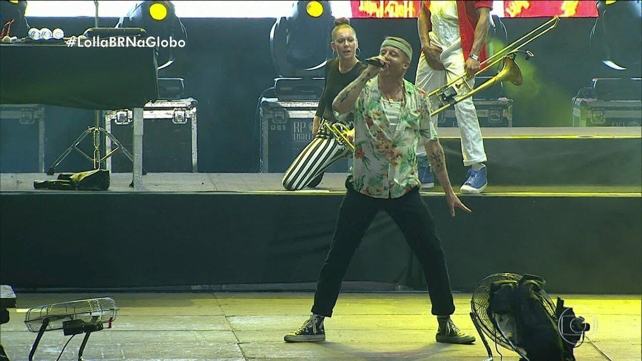 Macklemore fez a festa no Lollapalooza