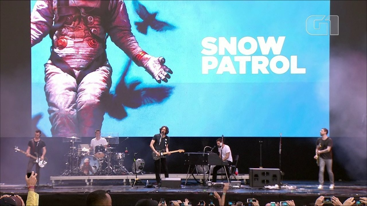 "Snow Patrol toca ""Open Your Eyes"" no Lollapalooza 2019"