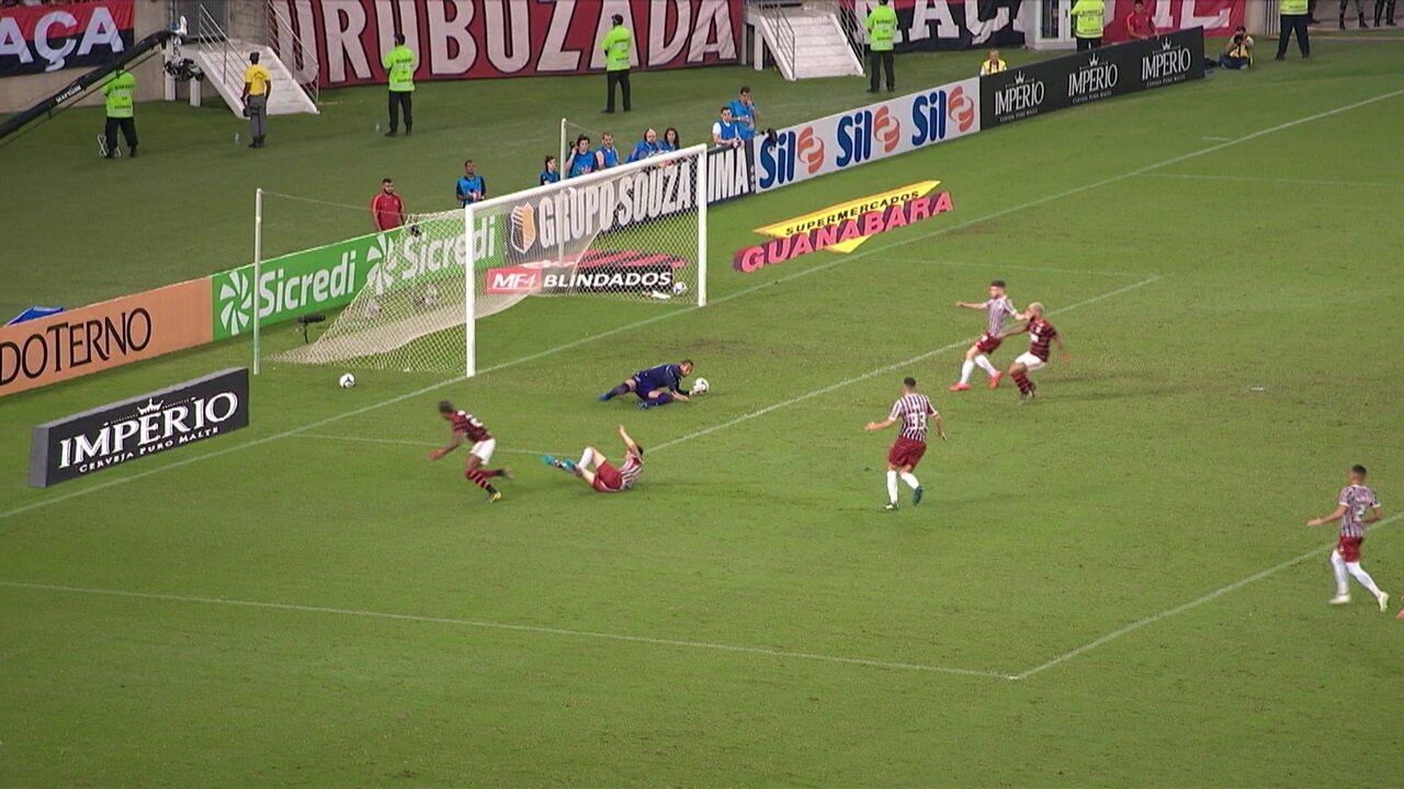 Melhores momentos de Flamengo 1 x 1 Fluminense pela semifinal do Campeonato Carioca