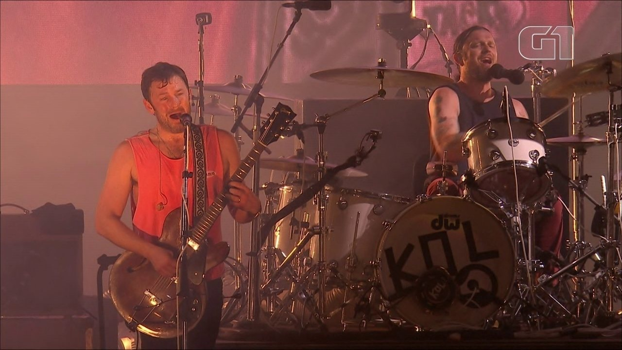 Kings of Leon toca 'Sex on Fire' no Lollapalooza 2019