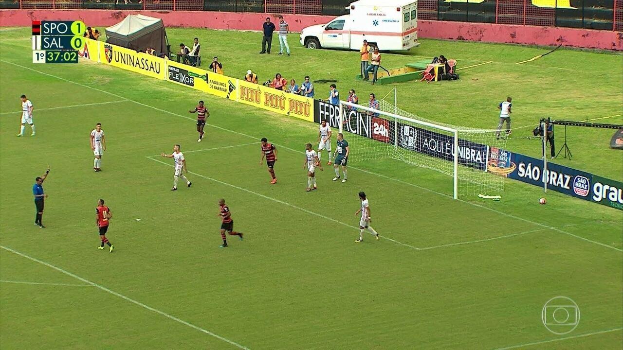 Assista aos melhores momentos de Sport 3 x 1 Salgueiro pela semifinais do Pernambucano