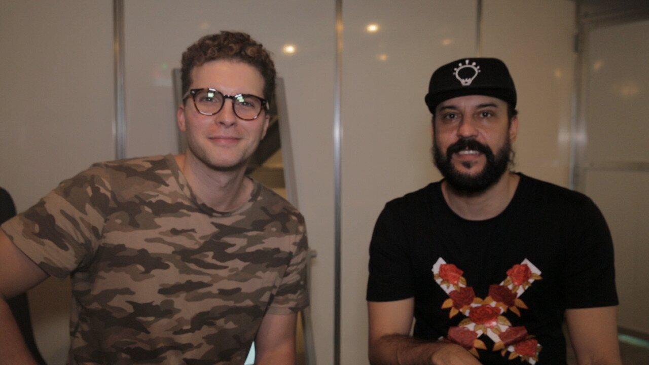 Thiago Fragoso conversou com Gabriel o Pensador no Lollapalooza 2019