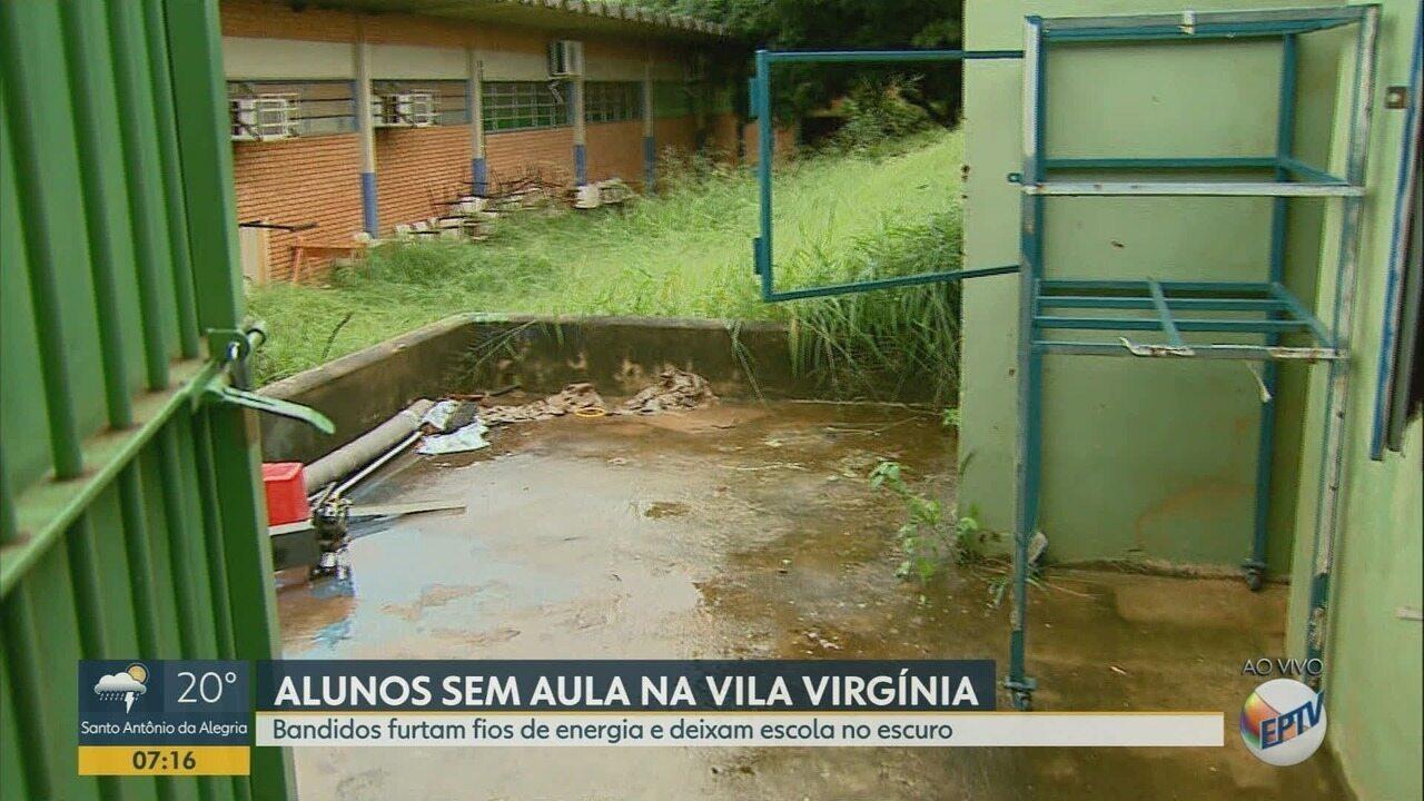 Furto de fiação elétrica em escola deixa 1,2 mil sem aulas em Ribeirão Preto