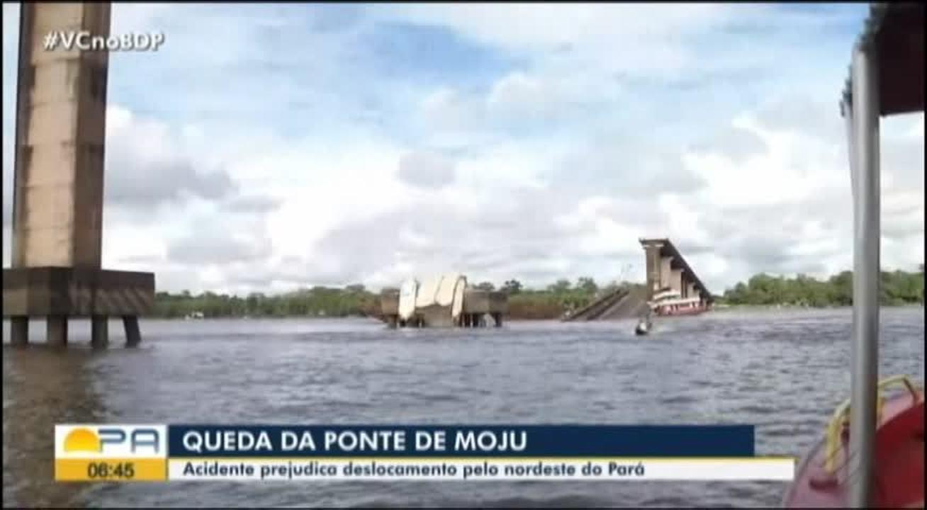 Acidente prejudica deslocamento pelo nordeste do Pará