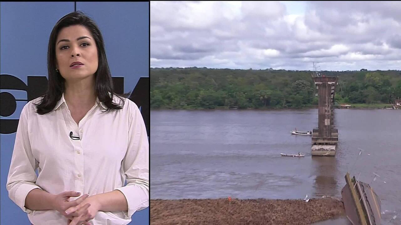 Bombeiros e polícia retomam buscas por possíveis desaparecidos no rio Moju, no Pará