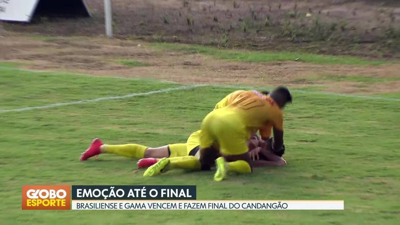 Gama e Brasiliense na final do Candangão