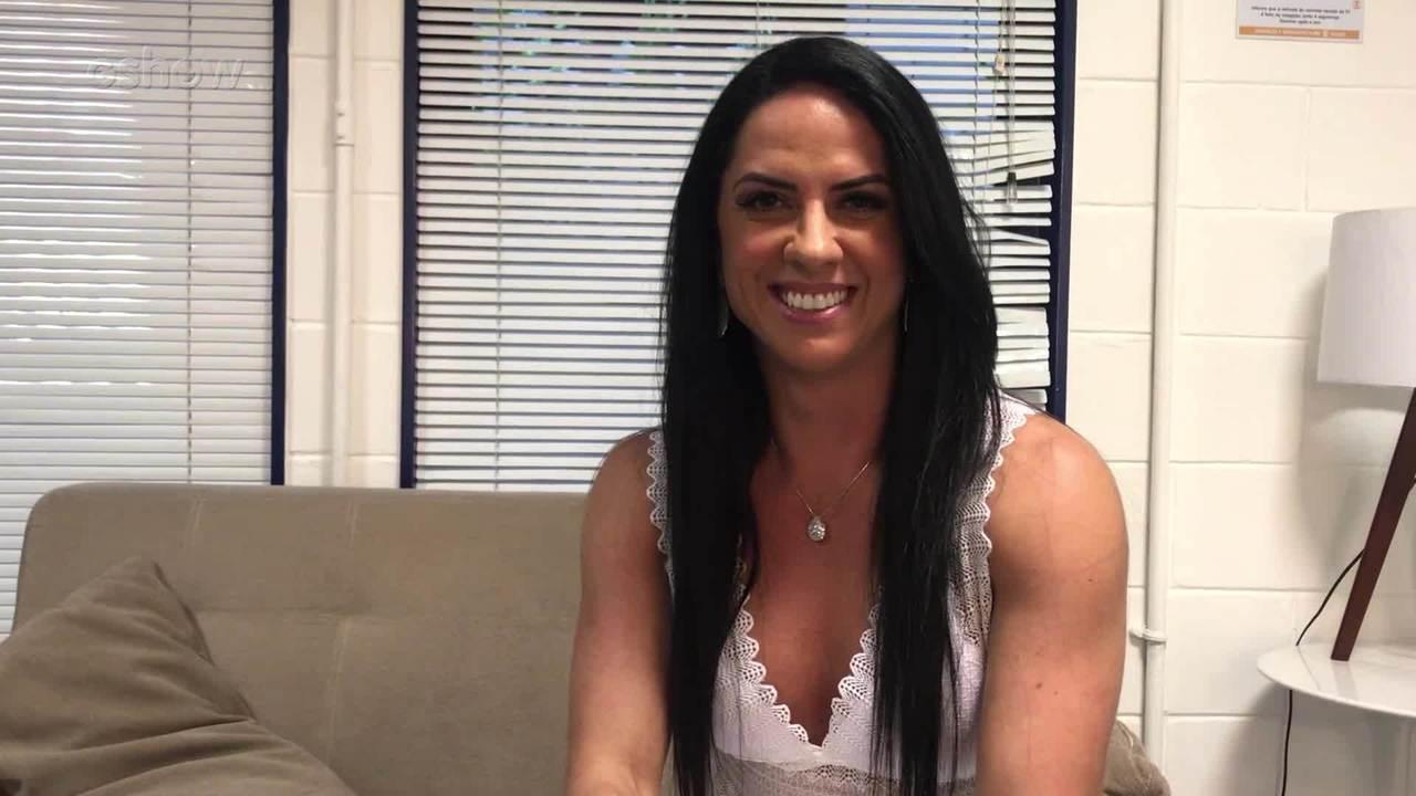 Graciele Lacerda, noiva de Zezé Di Camargo, responde curiosidades para o Gshow
