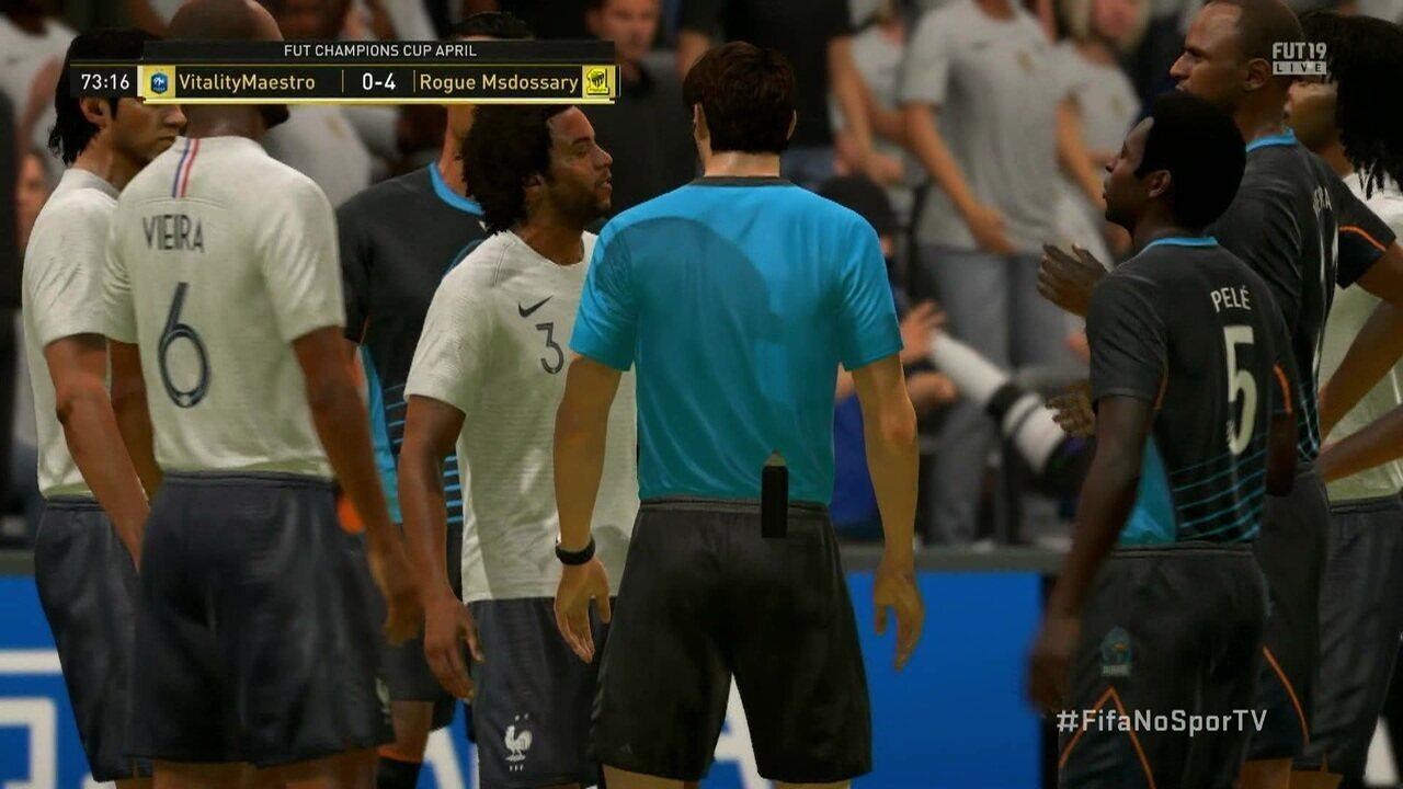 FIFA 19: MsDossary despacha francês MaestroSquad na final geral e garante vaga no Mundial