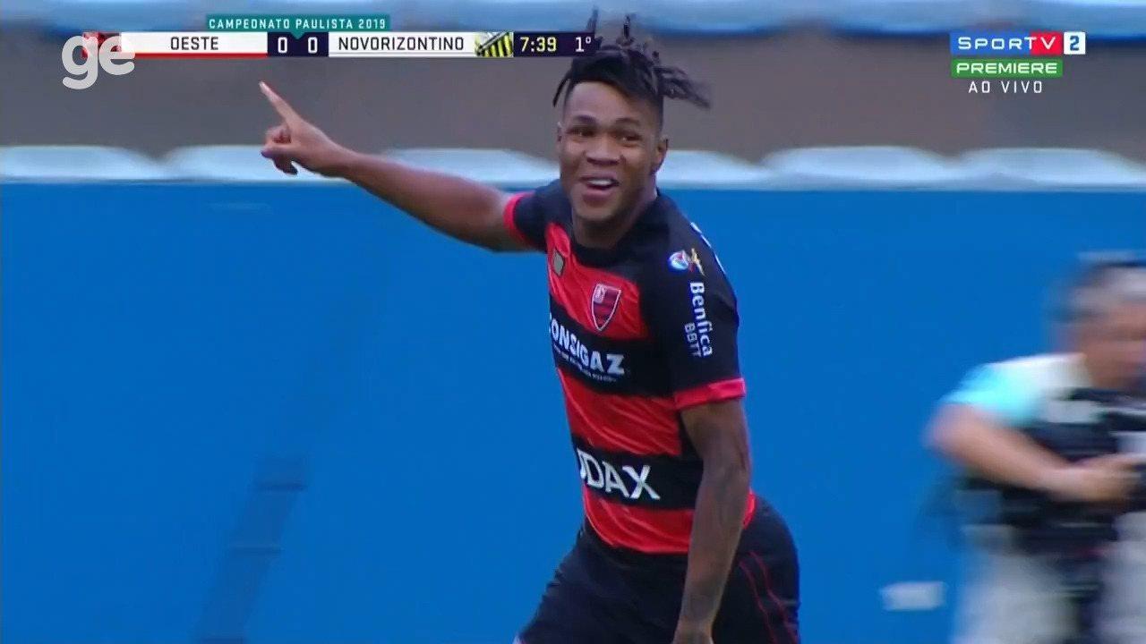 Veja gols de Matheus Jesus, volante que deve acertar com o Corinthians