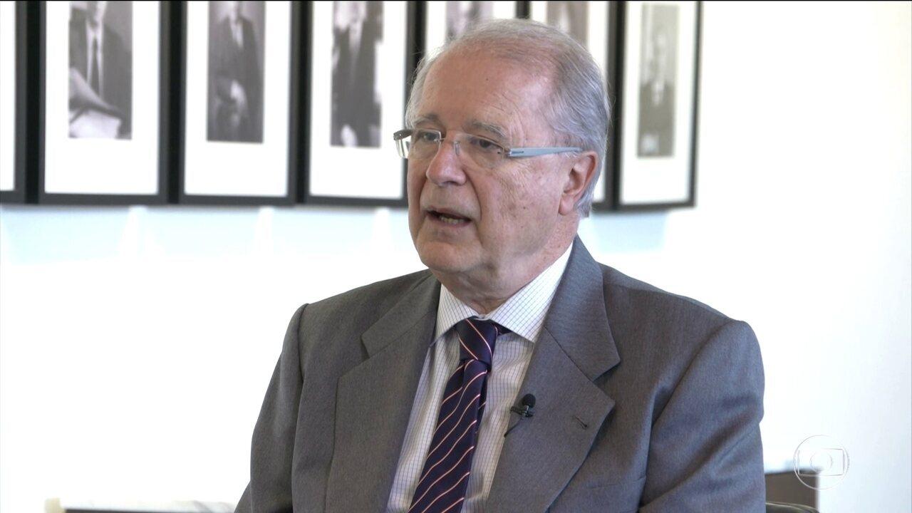 Ministro das Relações Exteriores remove embaixador Sergio Amaral de Washington