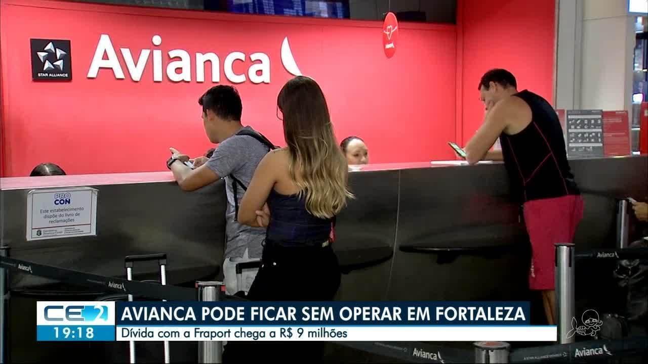 Com dívidas, Avianca tem operação ameaçada em Fortaleza