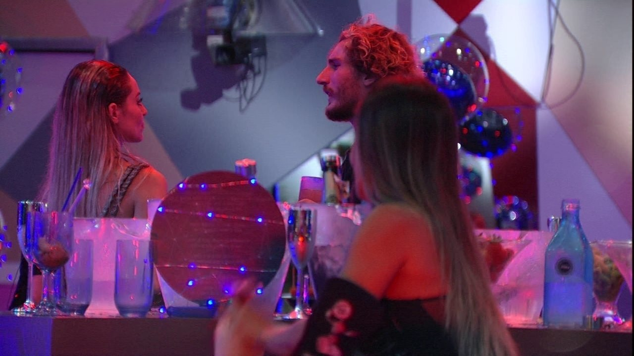 Alan revela para Paula: 'Era óbvio que eu queria que a Rízia ficasse'