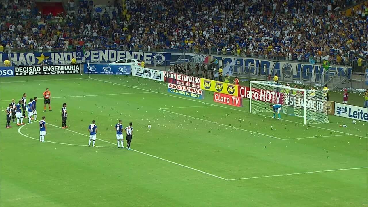 Atlético-MG 1 x 2 Cruzeiro - final Campeonato Mineiro 2013 - pênalti Atlético-MG