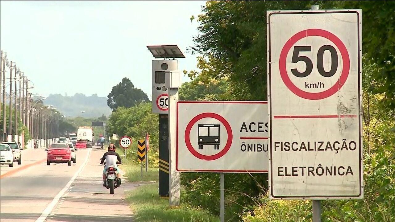 Justiça Federal proibiu governo de retirar radares de velocidade das rodovias federais