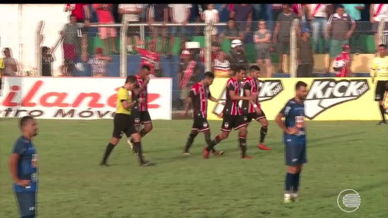 River-PI sai na frente e vence Altos de virada no primeiro jogo da final