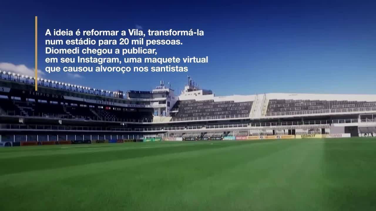 Entenda as negociações entre Santos e Bolton para reforma da Vila Belmiro
