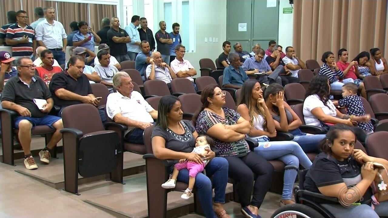 Audiência na Câmara de Agudos debateu os problemas no transporte público