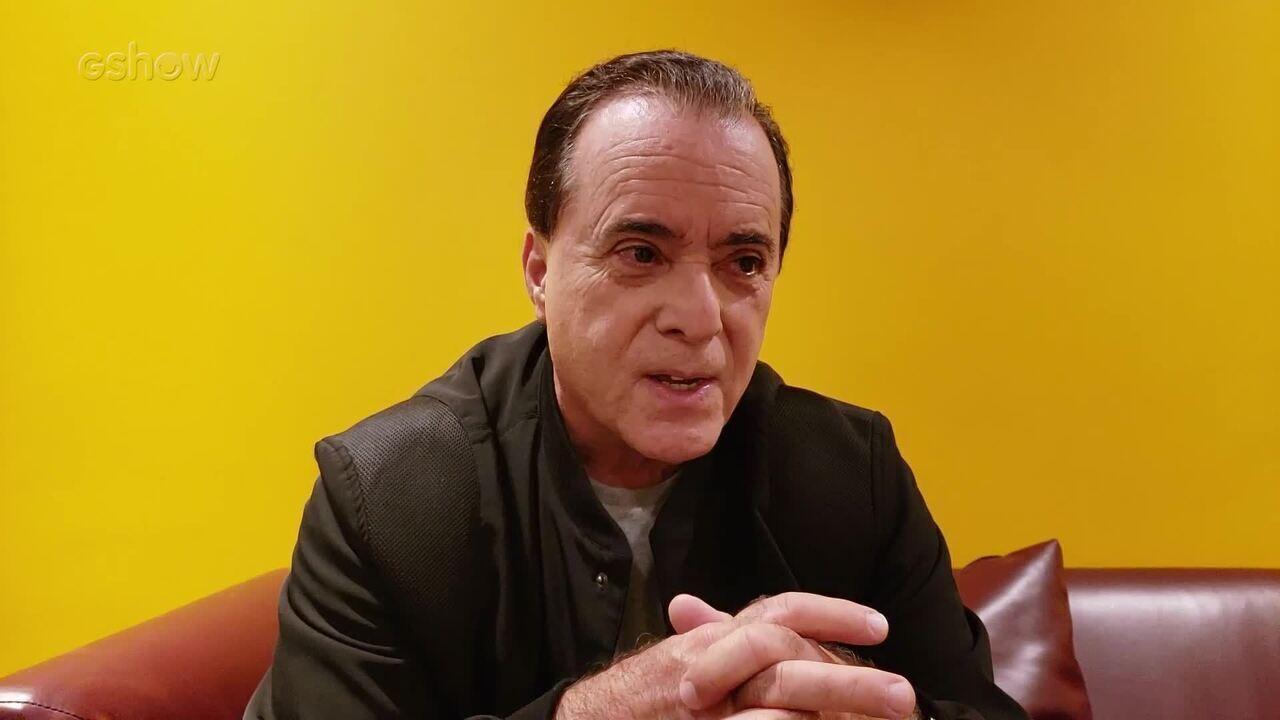 Tony Ramos fala sobre o vilão Olavo em