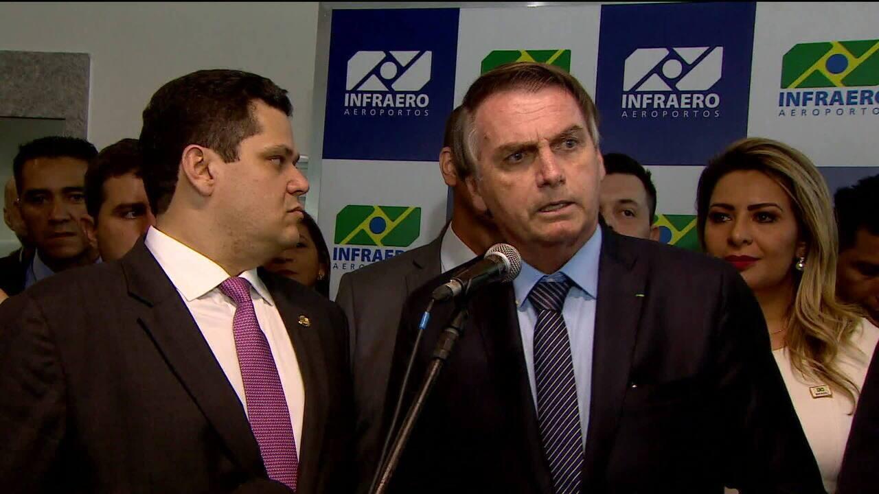 Bolsonaro admite interferência na política de preços da Petrobras