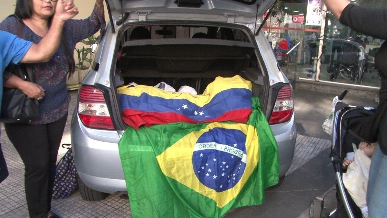 Solidariedade de refugiados venezuelanos em terras brasileiras
