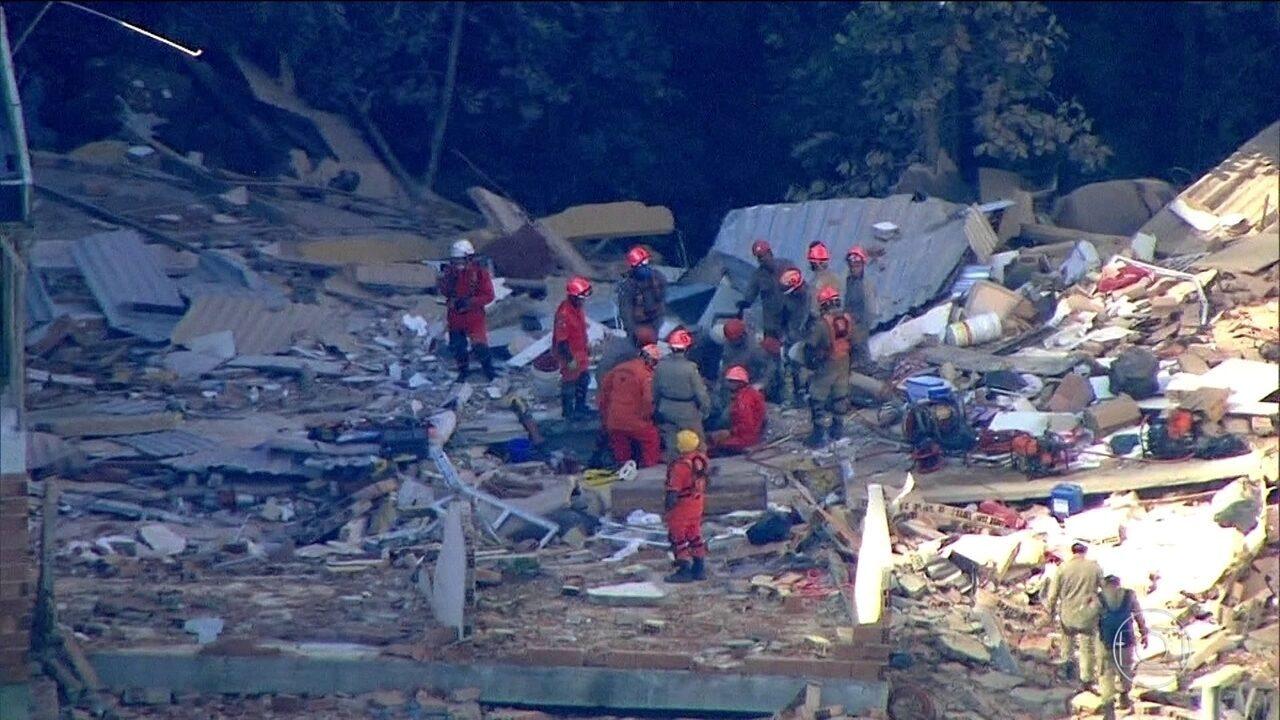 Rio vive nova tragédia: prédios desabam e deixam mortos, feridos e desaparecidos