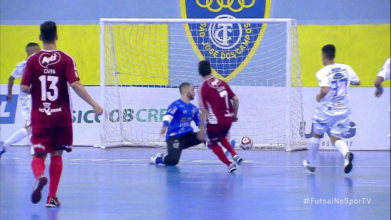 Os gols de São José 3 x 5 Atlântico Erechim pela Liga Nacional de Futsal