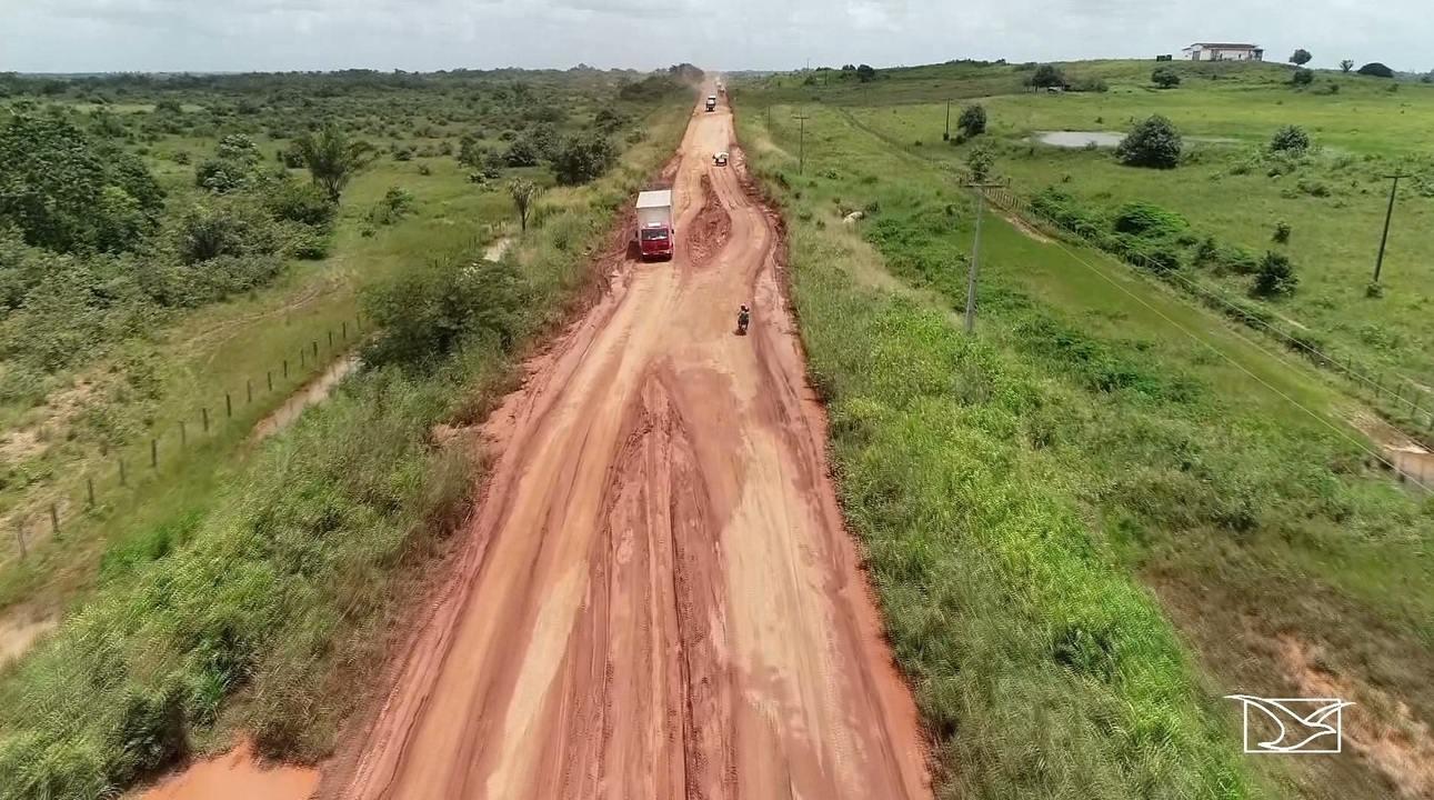 Falta de infraestrutura dificulta tráfego de veículos na BR-316 no Maranhão