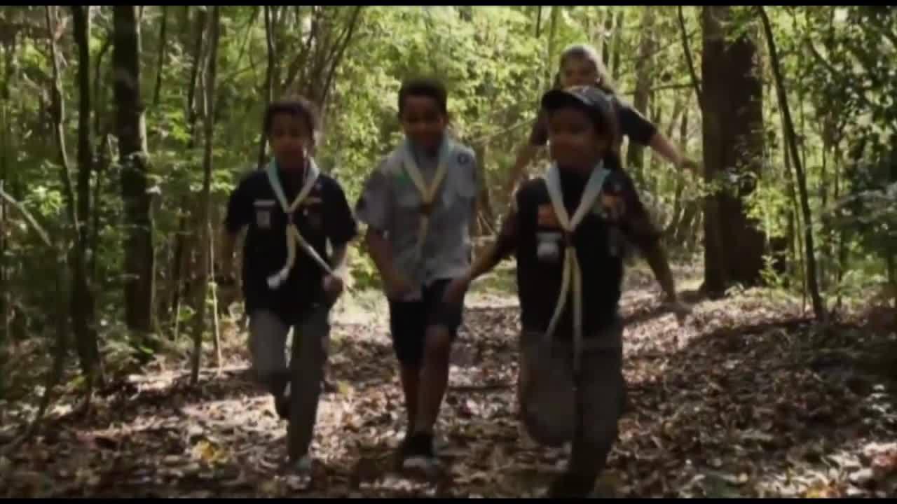 Em Santarém, grupo de escoteiros desde cedo aprendem o que é parceria