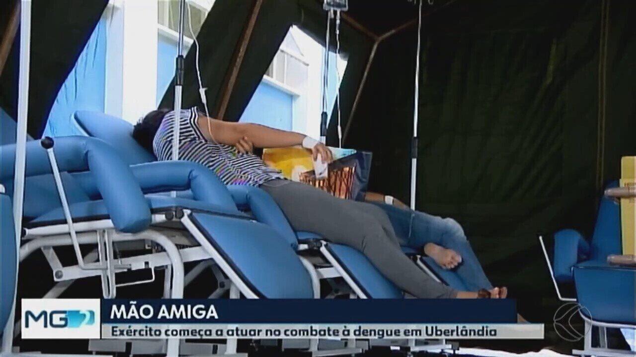 Uberlândia contará com apoio do Exército no combate à dengue