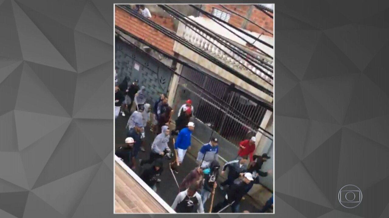 Briga entre torcedores do Corinthians e do São Paulo deixa feridos e baleados