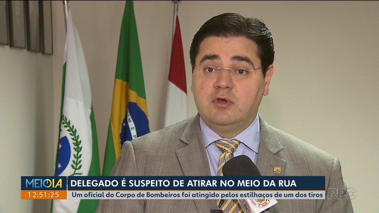 Presidente da Adepol causa confusão no centro de Curitiba