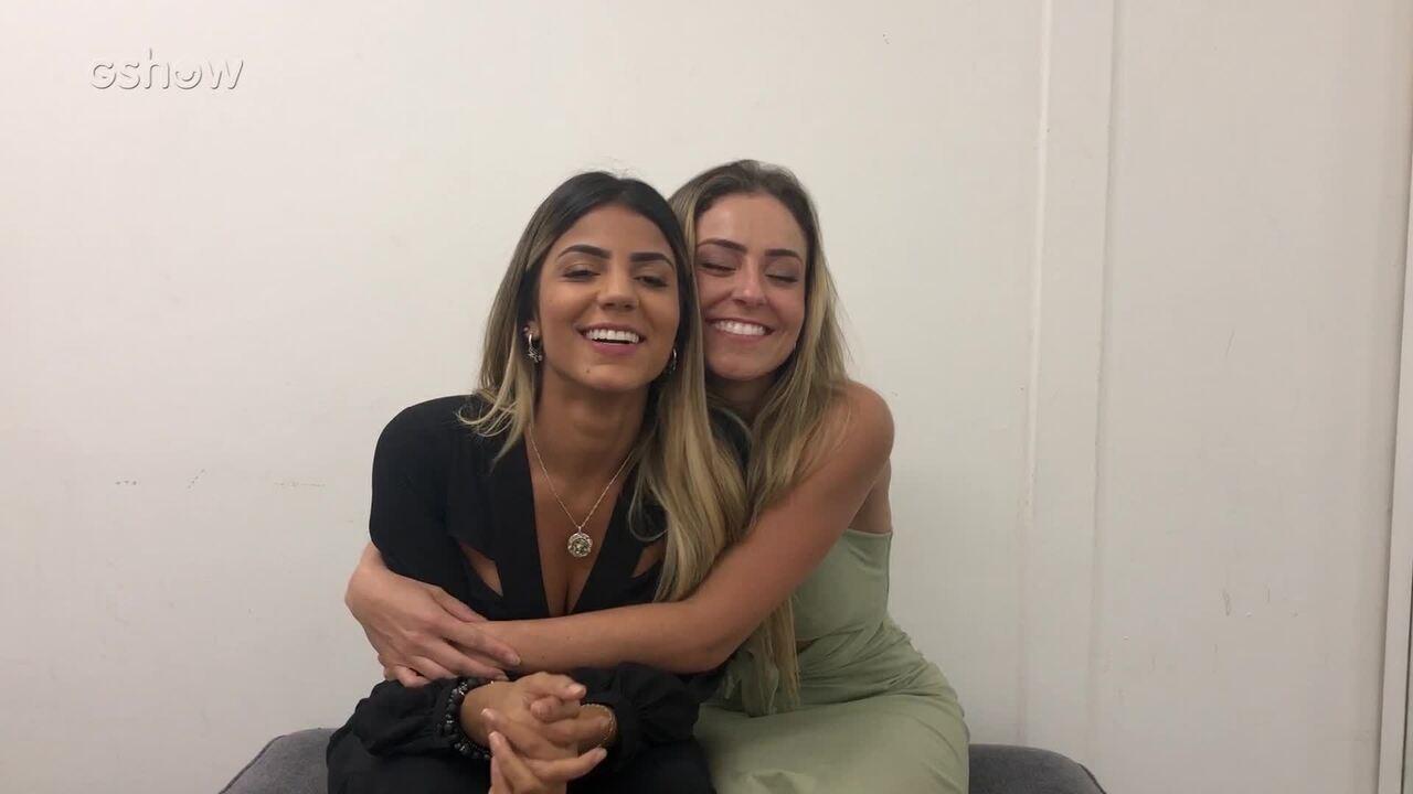 Paula e Hariany revelam que a amizade continua após o BBB19