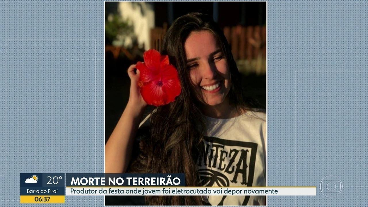 Polícia investiga morte de jovem eletrocutada no Terreirão do Samba