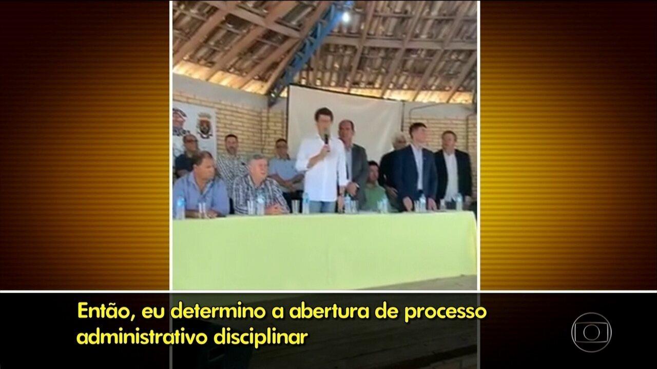 Presidente do Instituto Chico Mendes pede demissão após abertura de processo disciplinar
