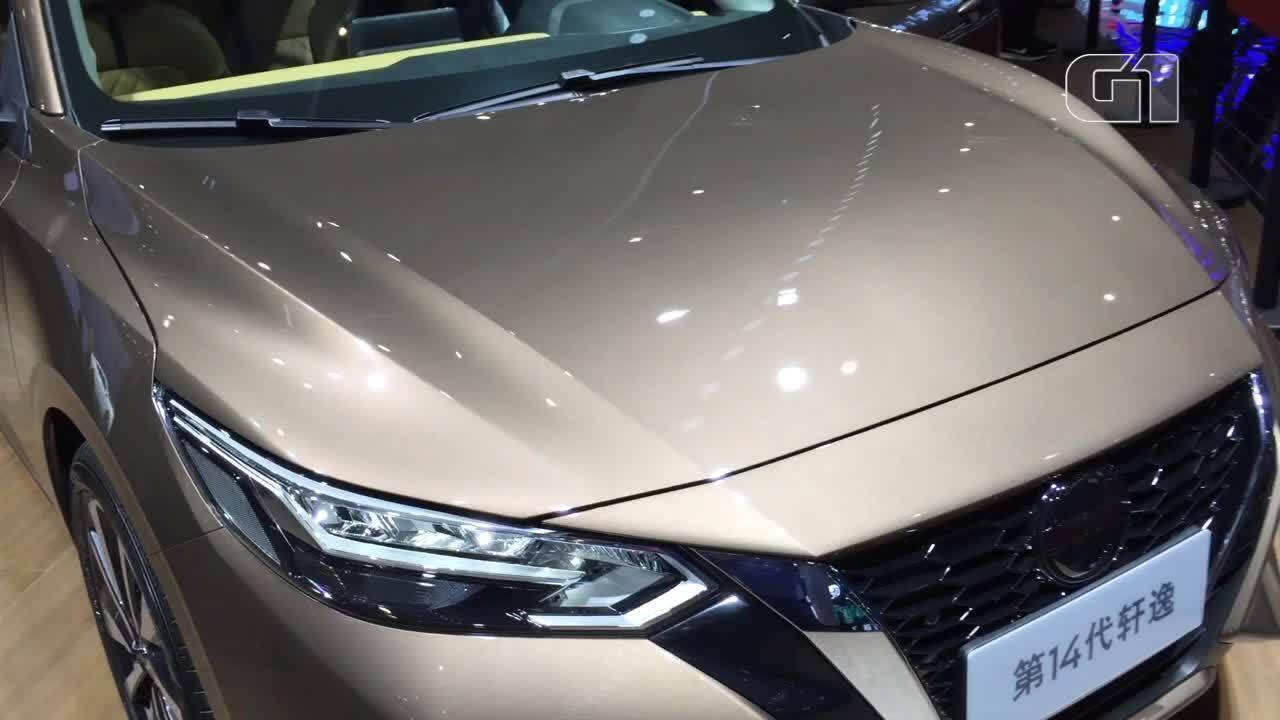Nissan revela nova geração do Sentra, que fica mais esportivo